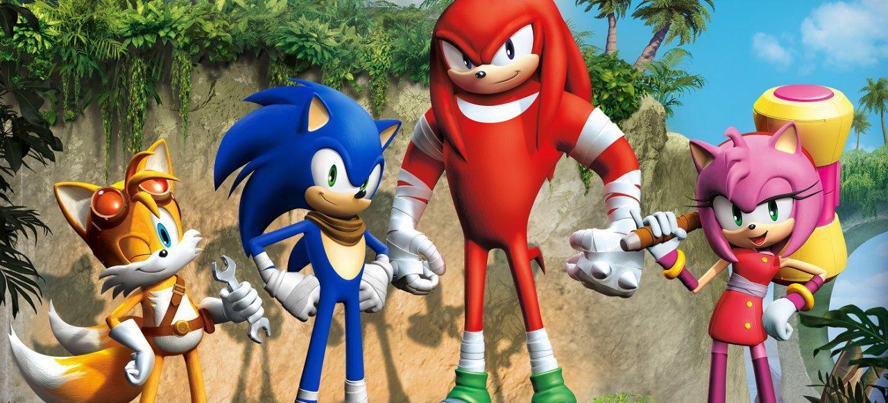 Sonic Boom: Lyrics Aufstieg (Geschicklichkeit) von Nintendo / SEGA