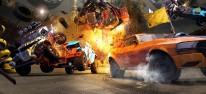 FlatOut 4: Total Insanity: Exklusive Spielszenen: Ben dreht einige Runden im Arcade-Racer und stürzt in Trinkbecher