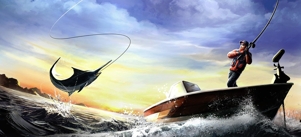 World of Fishing (Sport) von gameXcite Publishing / Insel Games