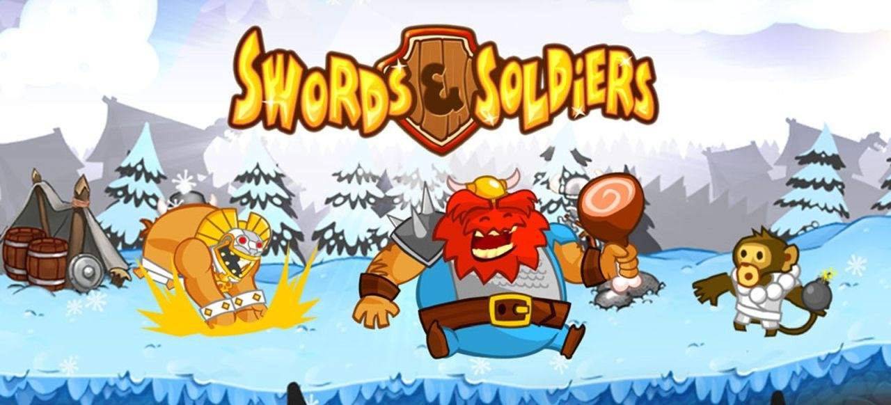 Swords & Soldiers (Strategie) von Ronimo Games (Wii) / Sony (PS3) / Daedalic (PC) / Chillingo (iOS)