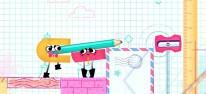 Snipperclips: : Alberne Spielszenen des kooperativen Geheimtipps für Nintendo Switch