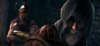 Assassin's Creed Odyssey: Das Vermächtnis der ersten Klinge: Ubisoft entschuldigt sich für eine erzwungene Beziehung in Schattenerbe