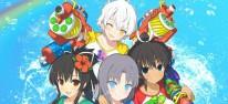 Senran Kagura Peach Beach Splash: Der freizügige Anime-Shooter mit Wasserpistolen wird für PC erscheinen