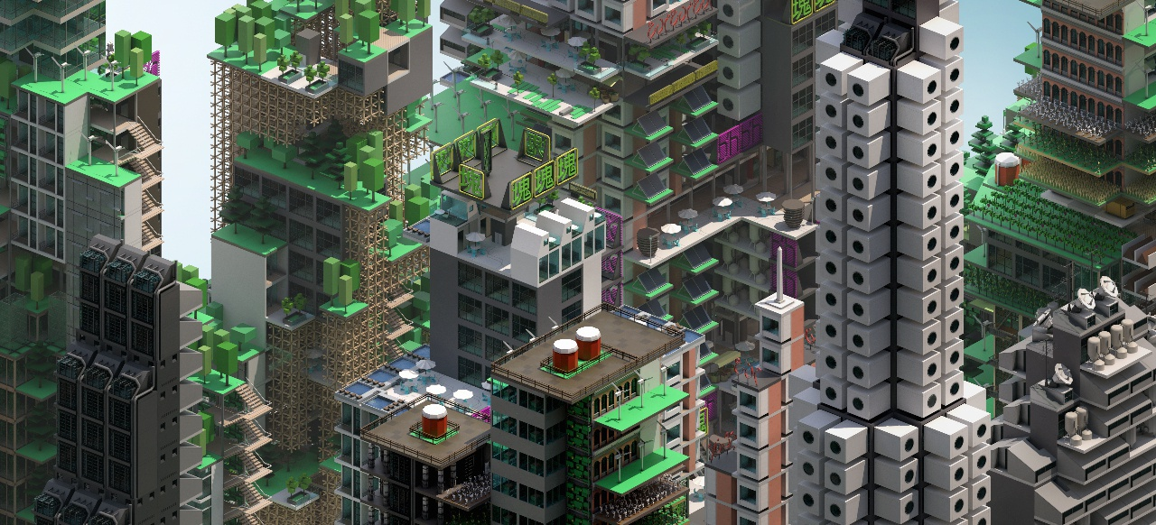 Block'hood (Strategie) von Devolver Digital