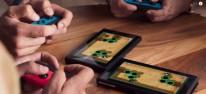 Minispiele über mehrere Bildschirme möglich