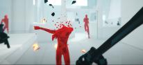 SUPERHOT VR: Exklusive Spielszenen: Jan hat sich auf der Oculus Rift in die Demo des virtuellen Shooters gestürzt