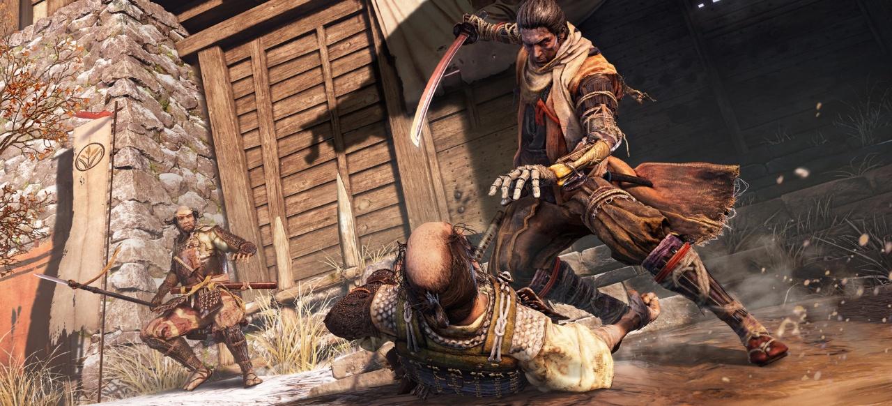 Ninja-Kämpfe und die Auferstehung vom Tod