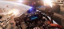 Ben tauchte auf der gamescom  in den Singleplayer der Weltraum-Simulation