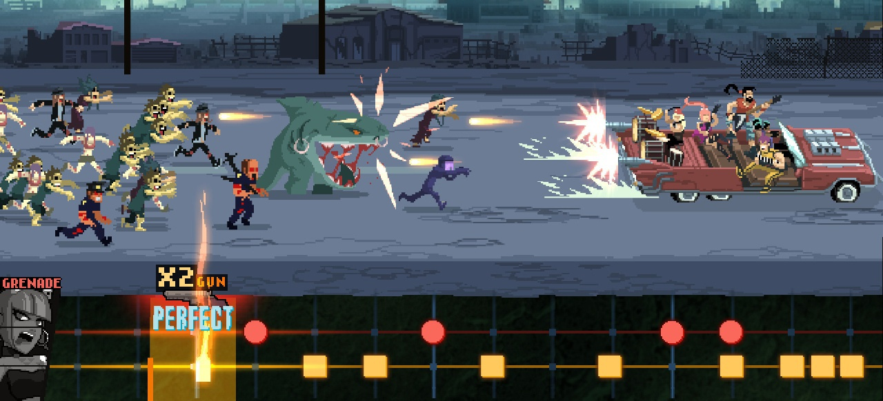 Double Kick Heroes (Geschicklichkeit) von Headbang Club