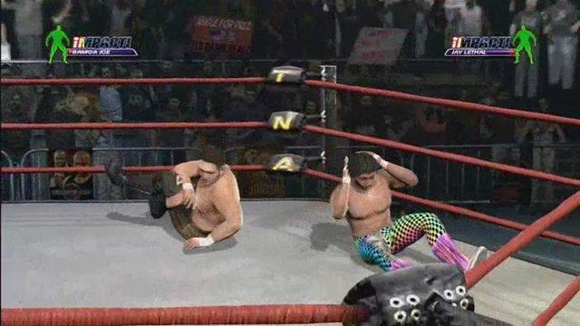 Samoa Joe vs. Jay Lethal