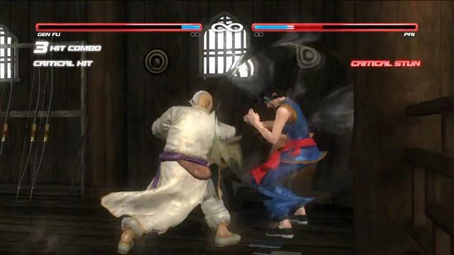 Gen Fu vs. Pai-Spielszenen