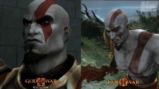 GoW2/GoW3-Vergleich