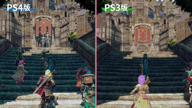 PS3/PS4-Vergleich (Japan)