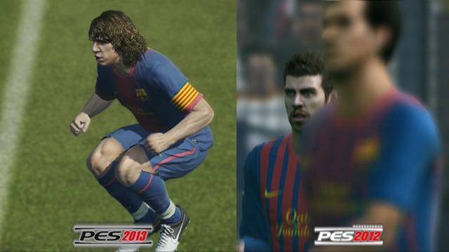 PES 2012/2013-Grafikvergleich