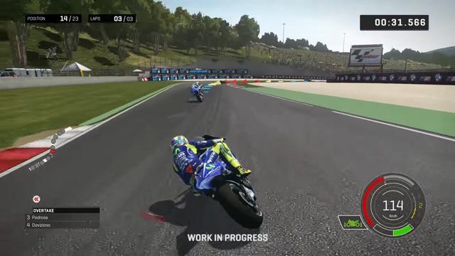 Eine Runde mit Valentino Rossi