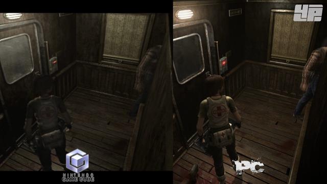 Grafikvergleich (GameCube/PC)