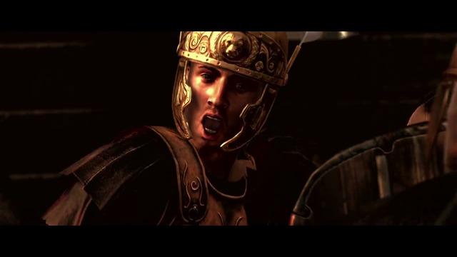 Erste Spielszenen (Angriff auf Karthago)