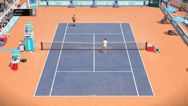 John McEnroe vs Andre Agassi (Legends Edition)