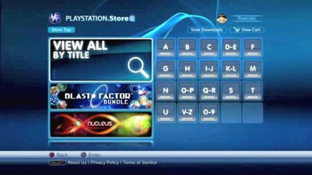 Vorstellung Neuer PlayStation Store