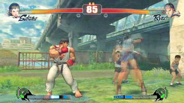 Sakura vs. Ryu