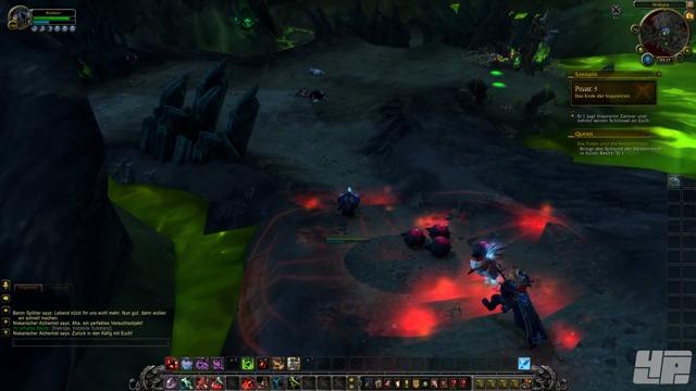 Alpha-Spielszenen: Schlund der Verdammten Artefakt-Questreihe (Todesritter - Blut)