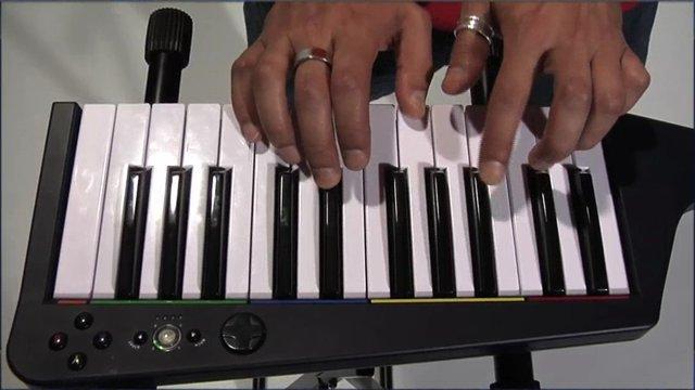 Keyboard-Spielszenen