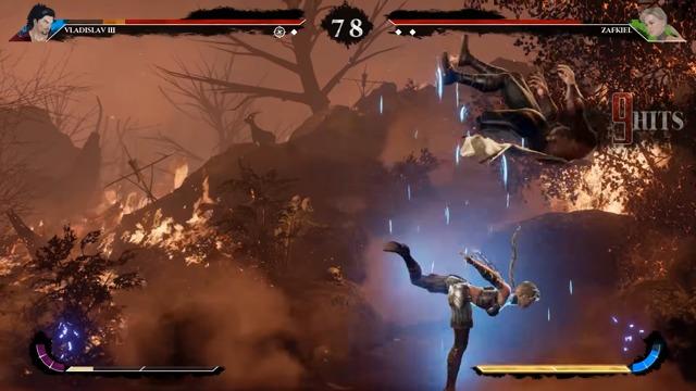 Spielszenen: Zafkiel vs. Vlad (EVO 2017 Build)