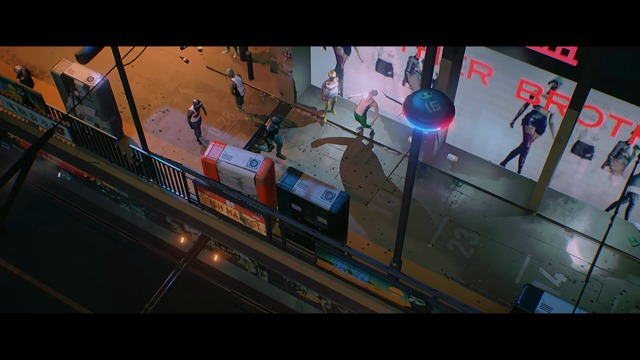 Multiplattform-Ankündigungs-Trailer