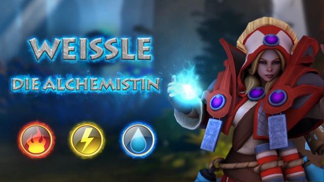 Weissle, die Alchemistin
