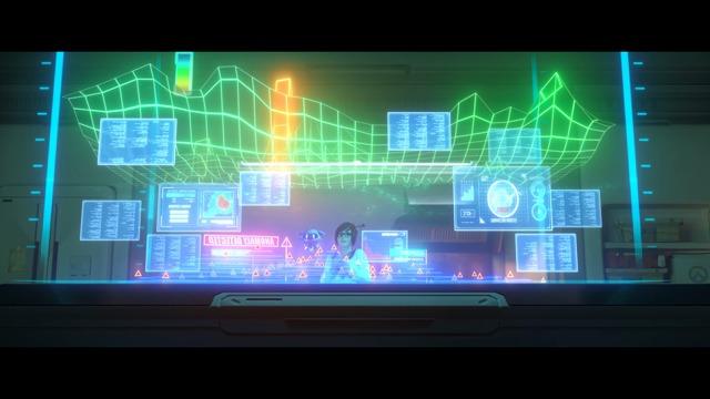 Animierter Kurzfilm: Wintererwachen