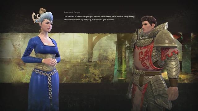 Story-Dialog, Teil 2