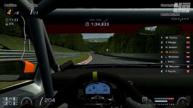 Eine Runde auf dem Nürburgring