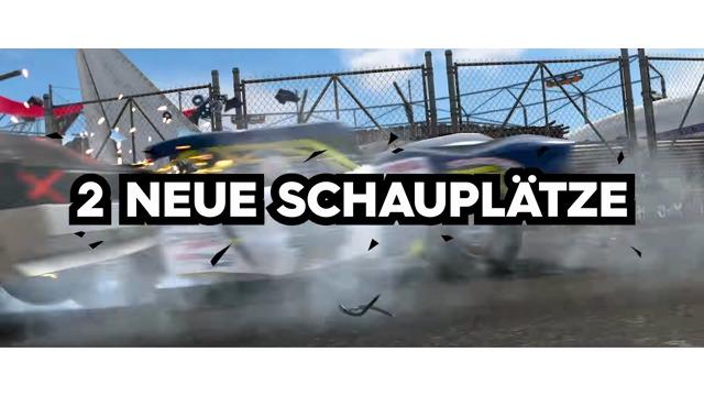 Demolition Derby Launch-Trailer