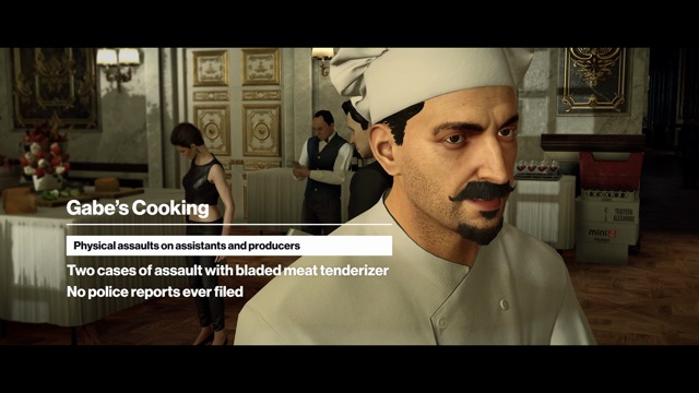 Elusive Target #14: The Chef