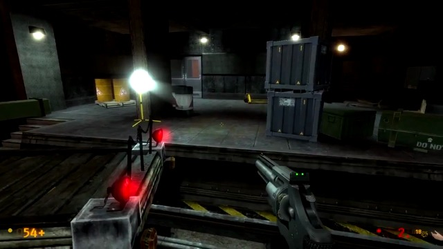 Black Mesa-Mod: Rail-Spielszenen