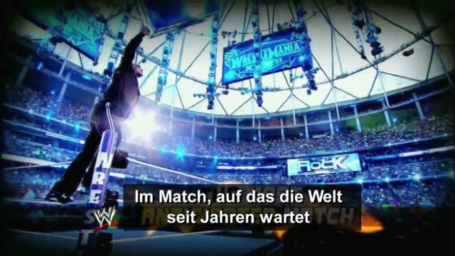 The Rock vs. John Cena