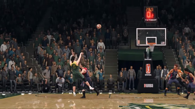 The WNBA Joins NBA LIVE 18