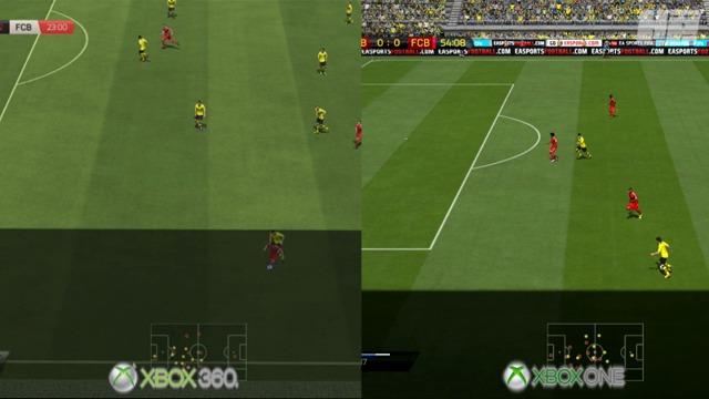 Xbox-One- / Xbox-360-Vergleich