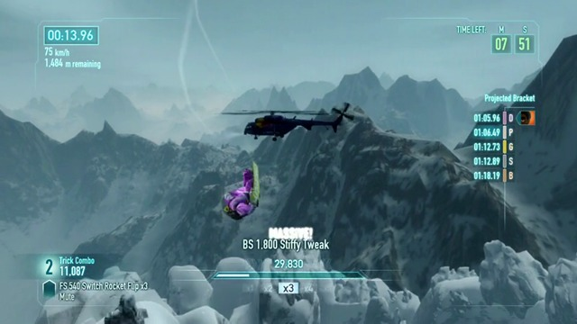 Wingsuit-Race