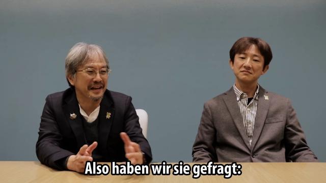 Interview mit Herrn Aonuma und Herrn Fujibayashi