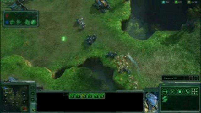 Battle Report - Terraner gegen Protoss