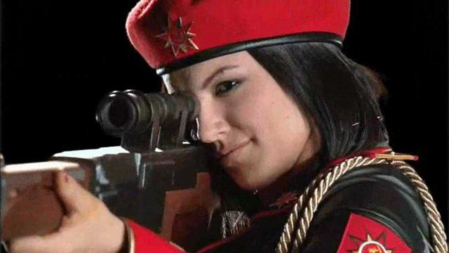 Gina Carano ist Natasha